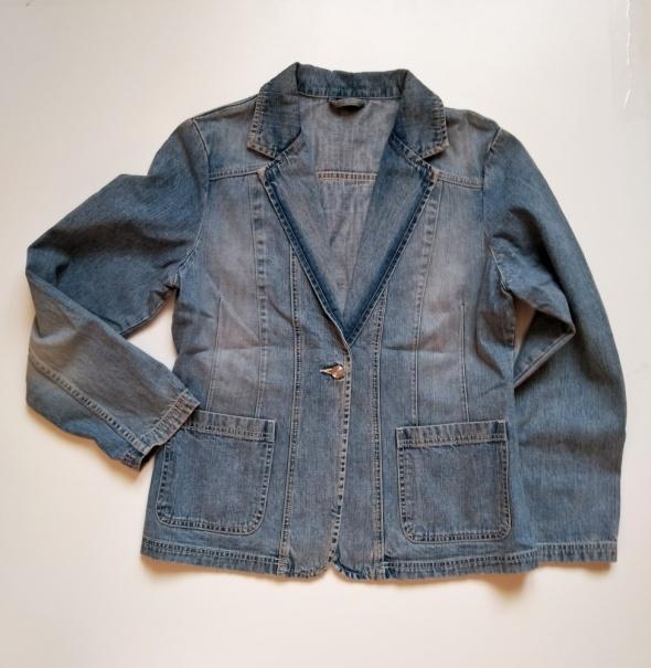 KELLO Marynarka żakiet jeansowy Rozm 40 L...