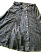 Spódnica długa na guziczki...