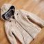 THC Natural Line gruby sweter kurtka wełna owcza S...