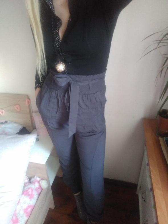 Spodnie haremki aladynki s m wiązane kokarda