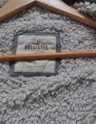 Hollister ciepła szara bluza na misiu hoodie 40 L...