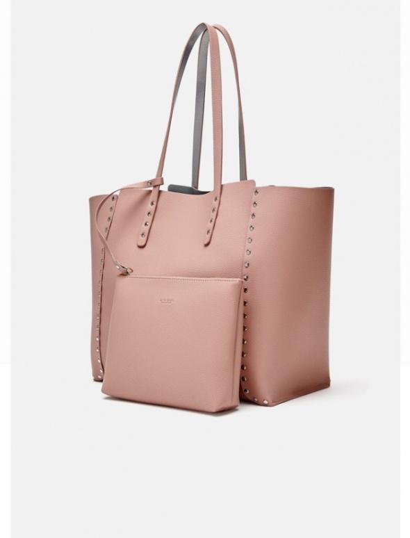 Torba shopper bag XXL Zara