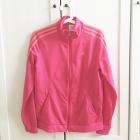 Bluza Adidas na zamek różowa
