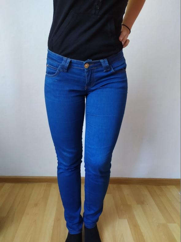 Niebieskie jeansy rurki 38 MISS RJ...