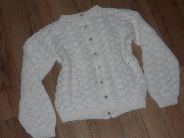 rozm 128 134 sweterek ażur