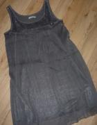 rozm 38 40 42 M L XL SAINT TROPEZ sukienka wyjsciowa CEKINY...