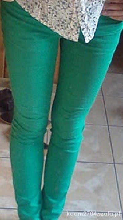 zielone rurki h&m
