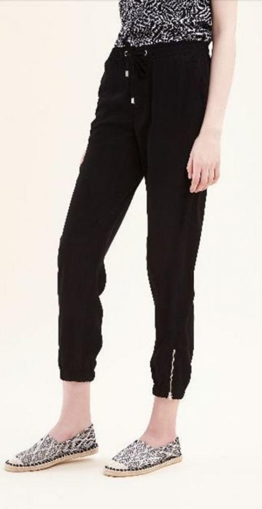 Spodnie Sinsay czarne zamki zip nowe 36 38 S M...