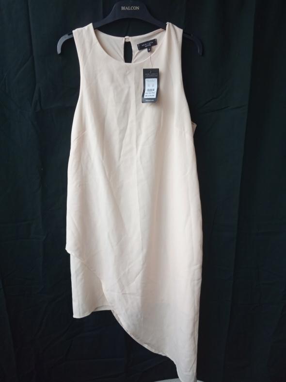 new look petite nowa asymetryczna sukienka 40 L
