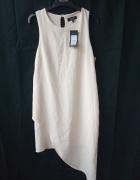 new look petite nowa asymetryczna sukienka 40 L...