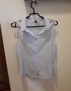 Błękitna bluzka H&M...