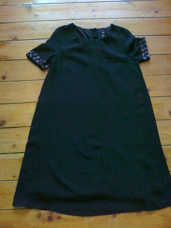 Czarna sukienka H&m rozmiar 38