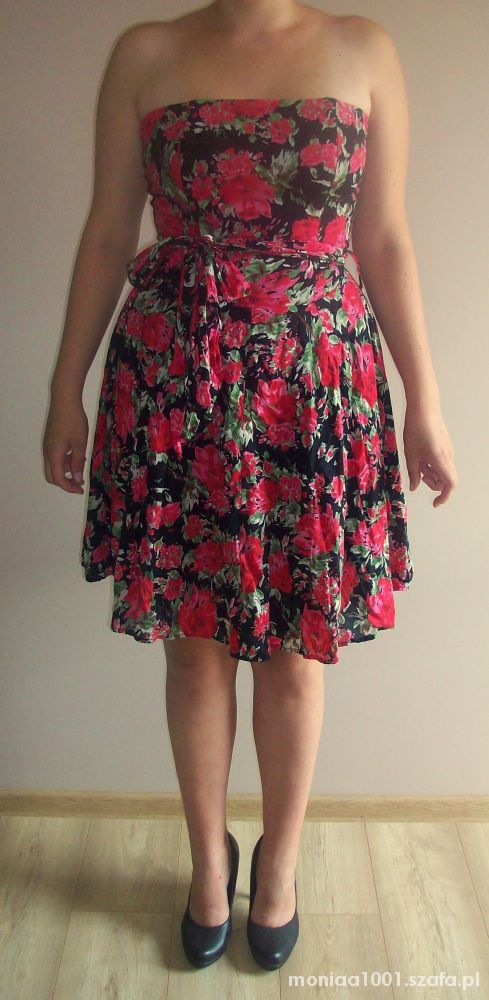 sukienka floral new look 38 40