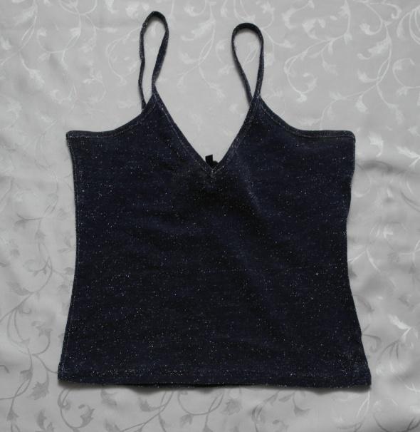 Sylwester bluzeczka czarno srebrna 38