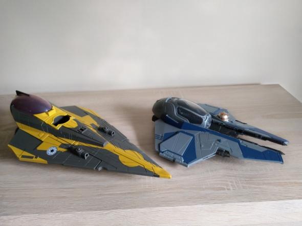 Zestaw Hasbro Star Wars statki Fisher Price zabawki oryginalne...