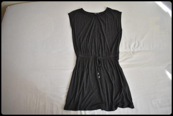 Sukienka szara popielata melanż SINSAY rozmiar 42 XL