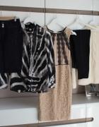 Zestaw ubrań r 36 Orsay Medicine H&M na jesień sukienka wysoki ...