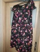 Śliczna firmowa Monsoon świetnie uszyta sukienka Ukrywa niedosk...