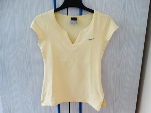 Żółta bluzka Nike...