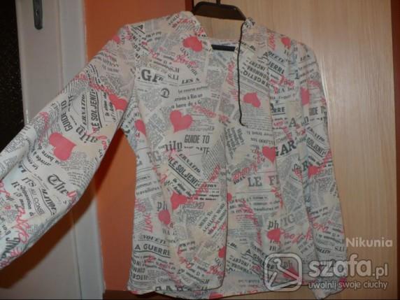bluzka gazetowa