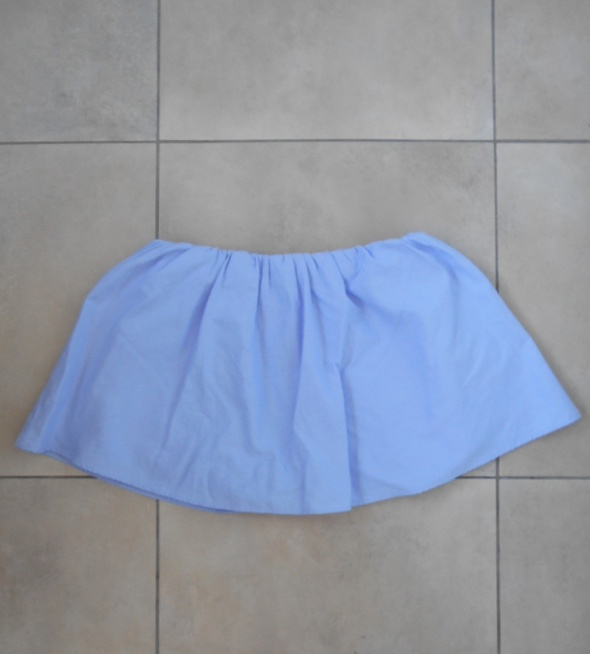 Spódnice Zara nowa mini spódniczka baby blue spodenki szorty z popeliny