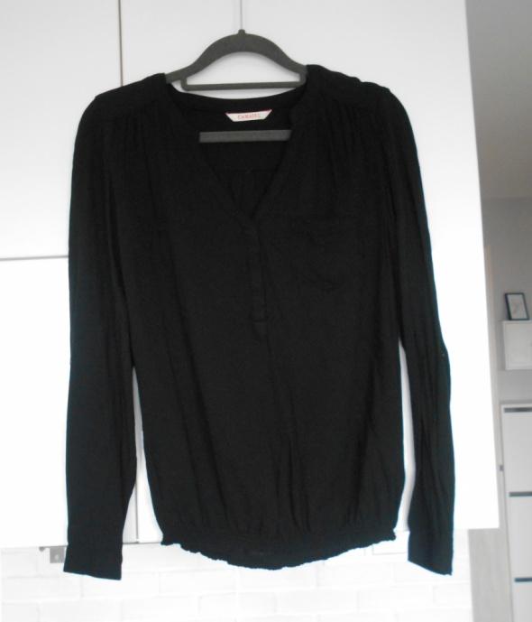 Camaieu czarna bluzka elegancka z kieszonką...