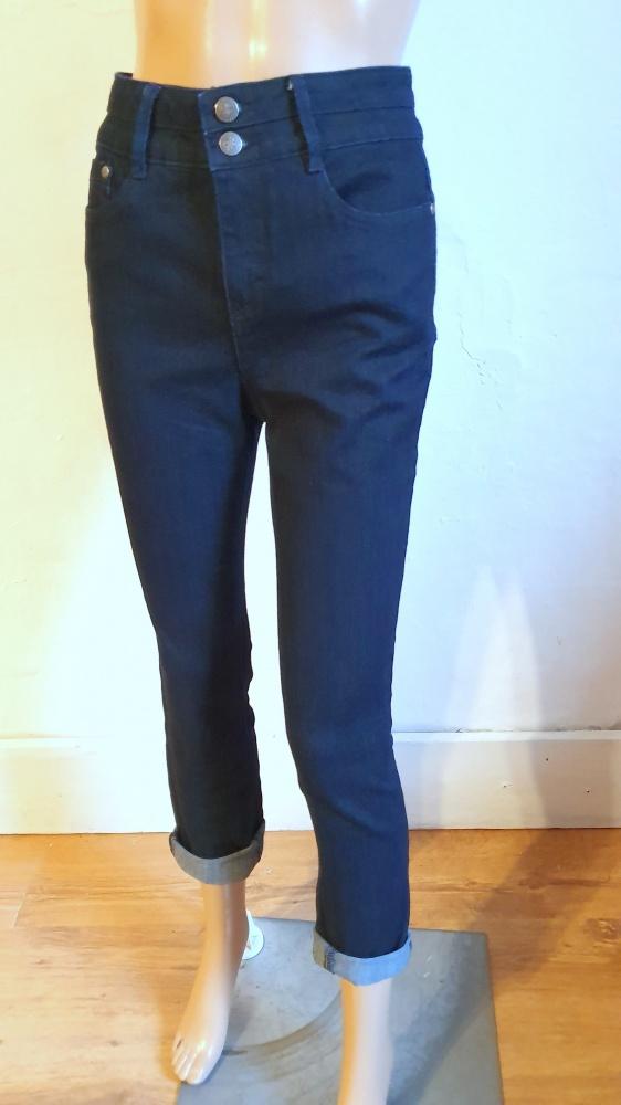 Jeansowe spodniegranatowe r około M...