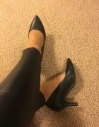 Vices czarne eleganckie szpilki obcasy buty na obcasie szpilce...
