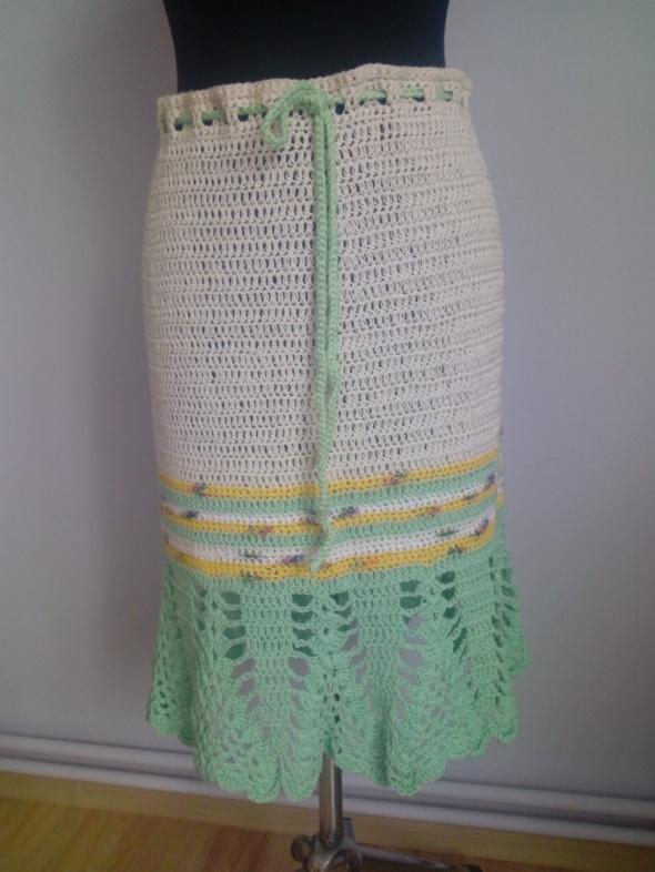 Spódnice ażurowa spódnica