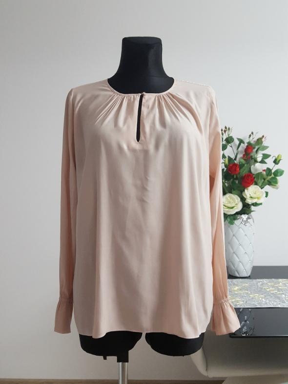 bluzka pudrowy róz H&M...