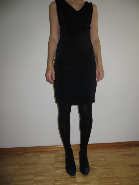 Suknie i sukienki Sukienka Orsay xs brokatowa błyszcząca