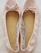 Różowe balerinki Atmosphere Primark 6 39 płaskie buty baleriny...