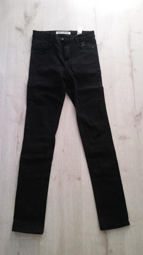 Spodnie Zara r XS jeansy czarne