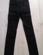 Spodnie Zara r XS jeansy czarne...