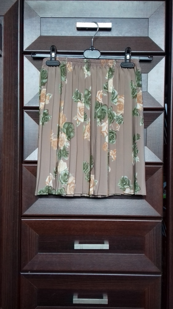 Spódnice Beżowa Spódnica plisowana