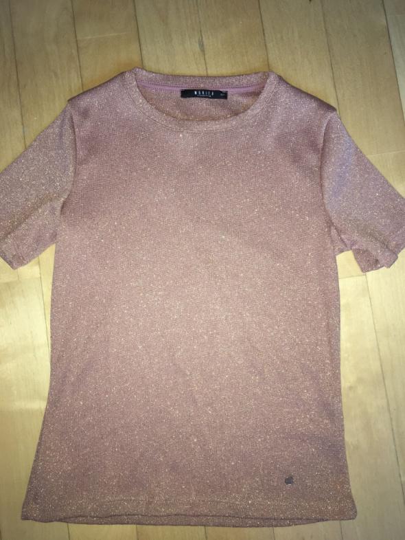 bluzka sweterkowa xxs mohito zlota nitka
