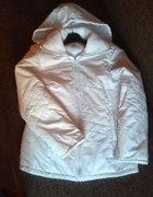 Biała kurtka zimowa