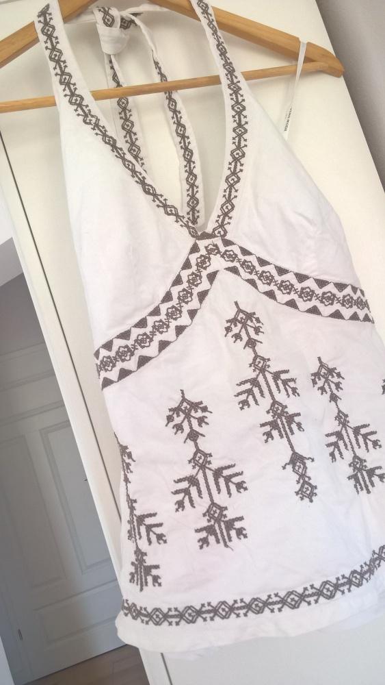 Bluzki Bluzeczka wiązana Boho Vero Moda