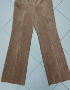 Spodnie sztruks miodowe M 38...