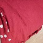 Czerwona bluzeczka w białe groszki pin up retro rockabilly