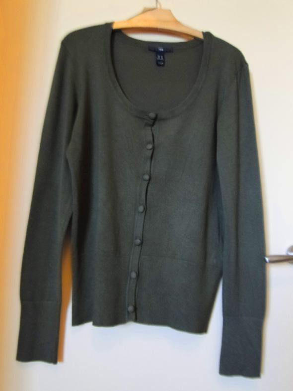 Swetry Świetny sweter HM khaki jak nowy XXL