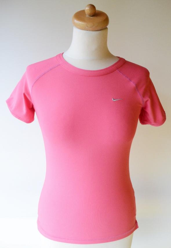 Bluzka Sportowa Różowa Nike FIT S 36 Róż Biegania...