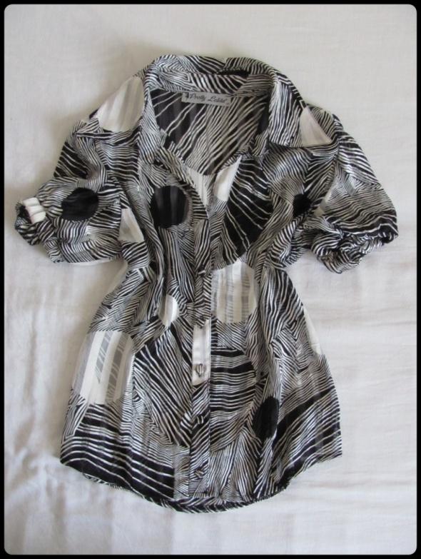 Koszula Pretty Lolita rozmiar 40 L wzorzysta...