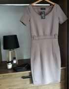 Sukienka wrzosowa...