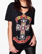 Koszulka Tshirt Choker V Neck Guns N Roses GNR Appetite For Des...