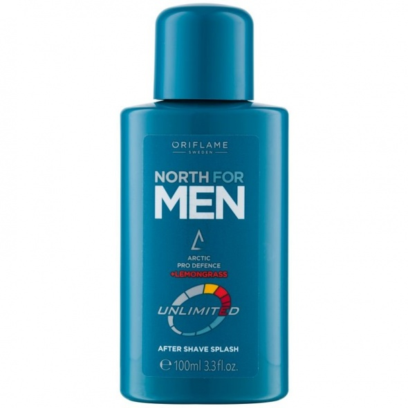 Woda po goleniu North For Men Unlimited Nowa Oriflame