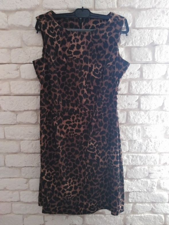 Suknie i sukienki Sukienka panterka F&F S M