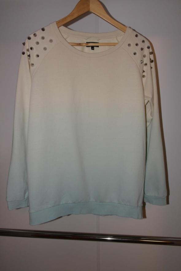 Bluzy Bik Bok bluza ombre z ćwiekami na ramionach r M