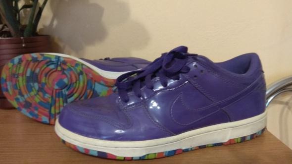 Sportowe sportowe Adidas fioletowe 39 25cm Dunk Low purple