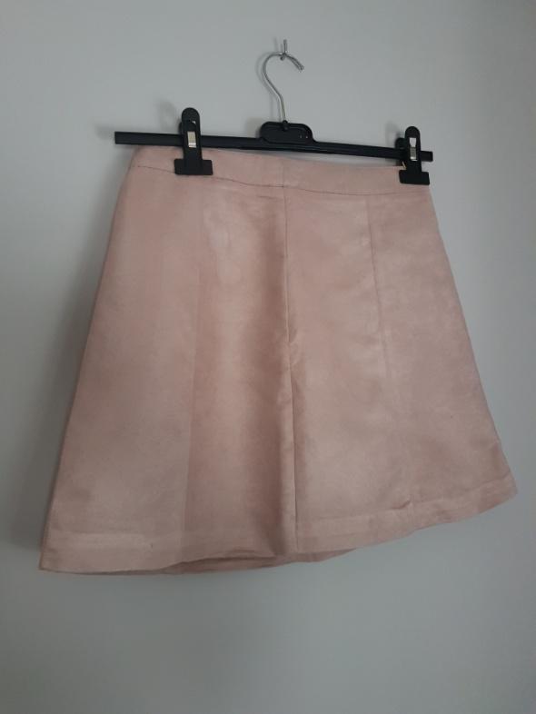 Nowa mini spódniczka pudrowy róż H&M